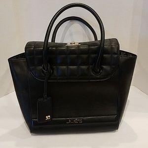 Joe's jeans Black vegan leather handbag
